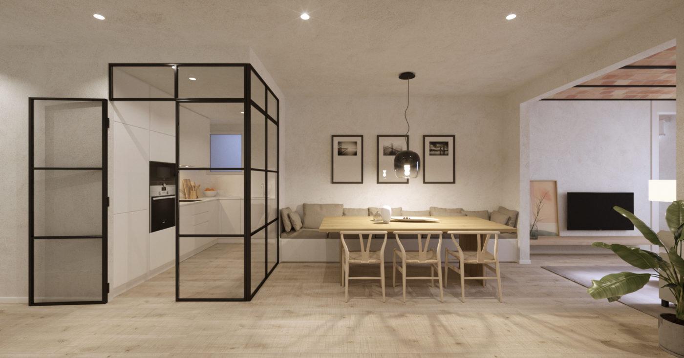 En venta fantástico piso en el barrio de la Sagrada Familia c/ Padilla