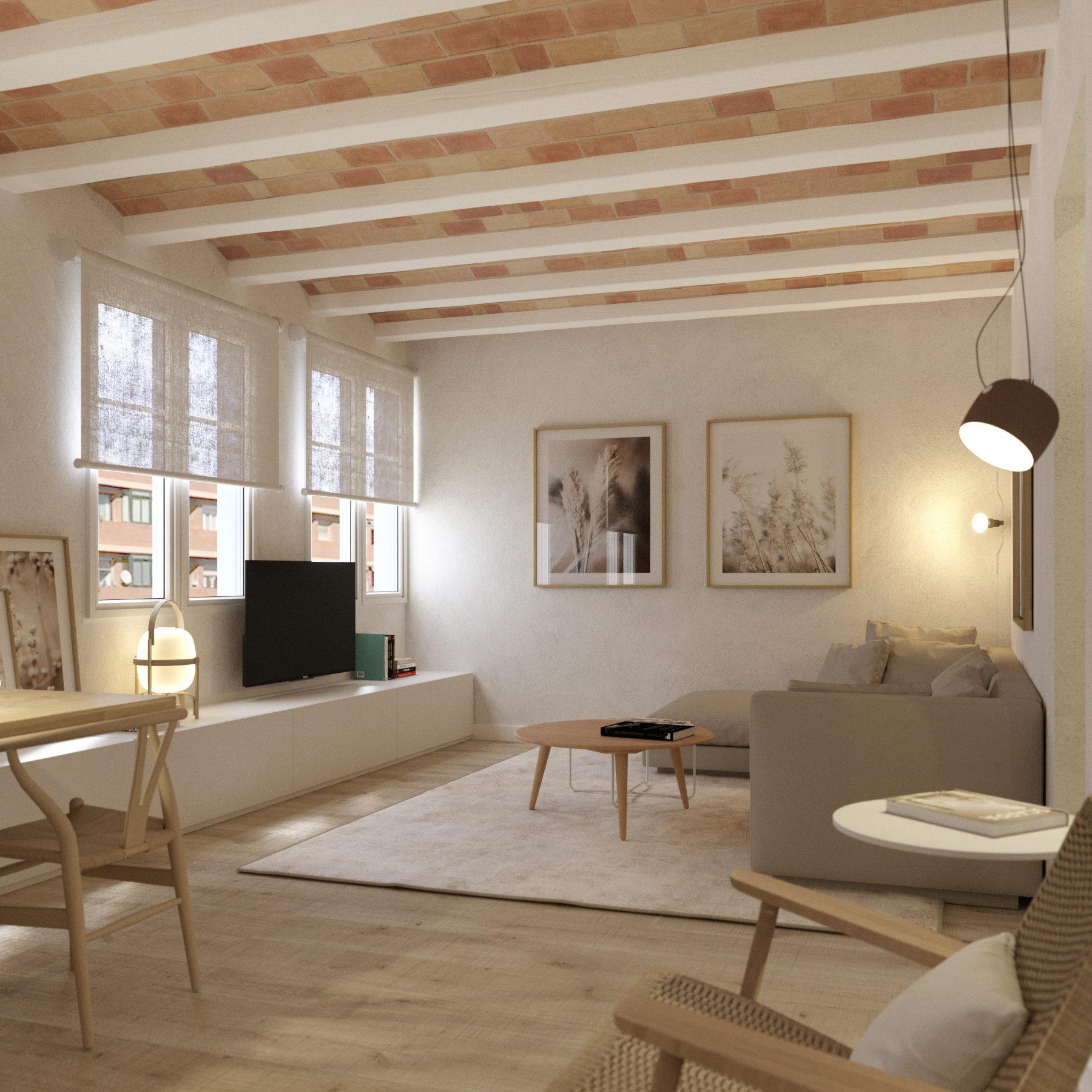 En venta fantástico piso en l'Eixample barri de la Sagrada Familia carrer Padilla