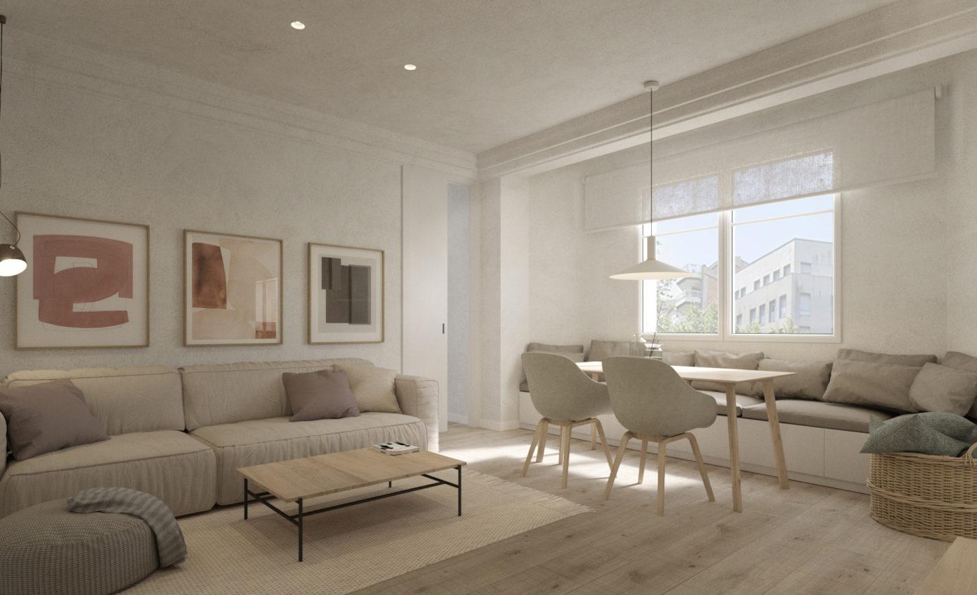 En venta fantástico piso en l'esquerra  de l'Eixample c/ Villarroel