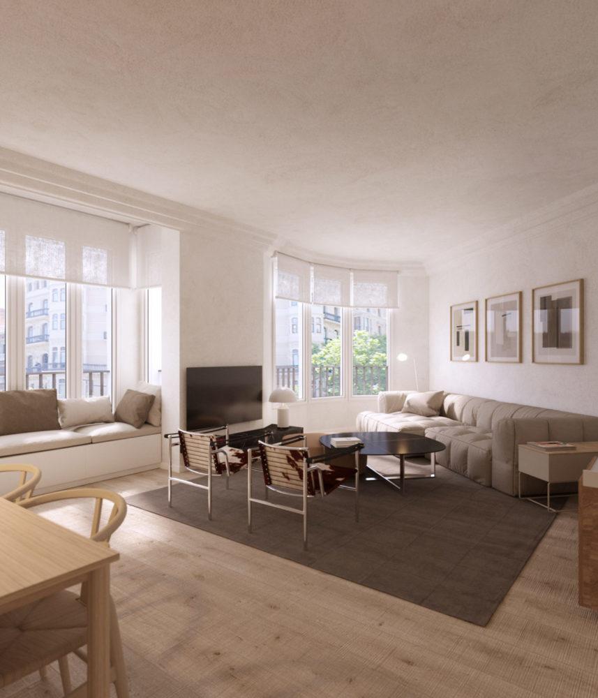 En venta fantástico piso en la dreta de l'Eixample c/ Passeig Sant Joan