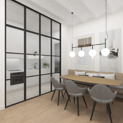 En venta fantástico piso en l'Eixample barri de Sant Antoni carrer Aragó