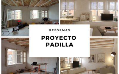 Antes y después: Vivienda Padilla